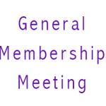 2014 General Membership meeting
